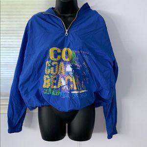 Jackets & Blazers - Cocoa Beach Wind breaker NWOT